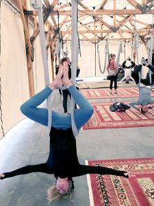 Suspended Yoga