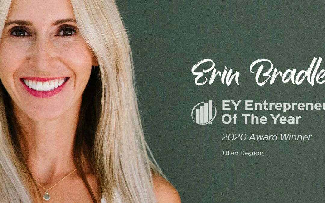 ZYIA Active CEO and Founder Named Entrepreneur Of The Year 2020, Utah Region Award Winner