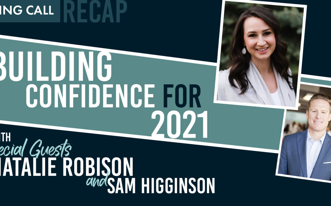 Building Confidence For 2021