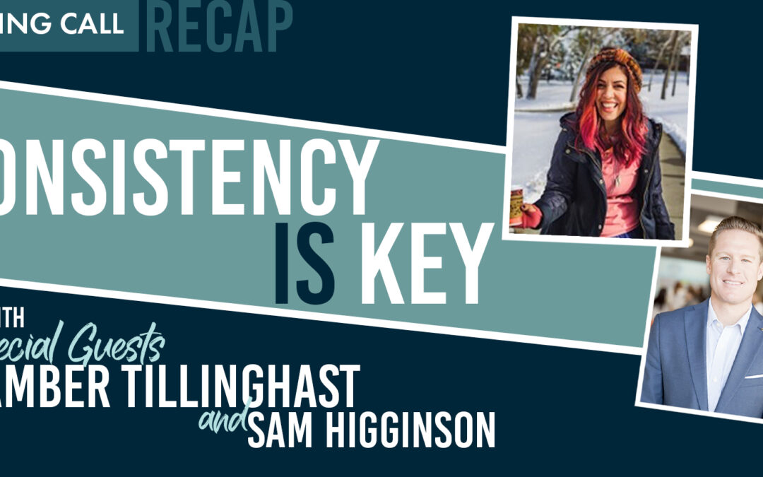 Consistency is Key with Amber Tillinghast